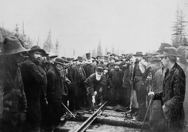 Trans Canada Railroad completed