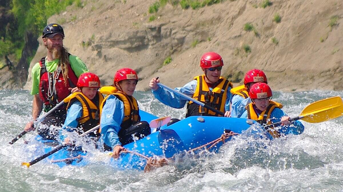 Evergreen Outdoor Center Rafting Trip