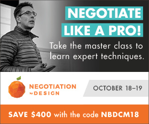 Negotiation by Design seminar